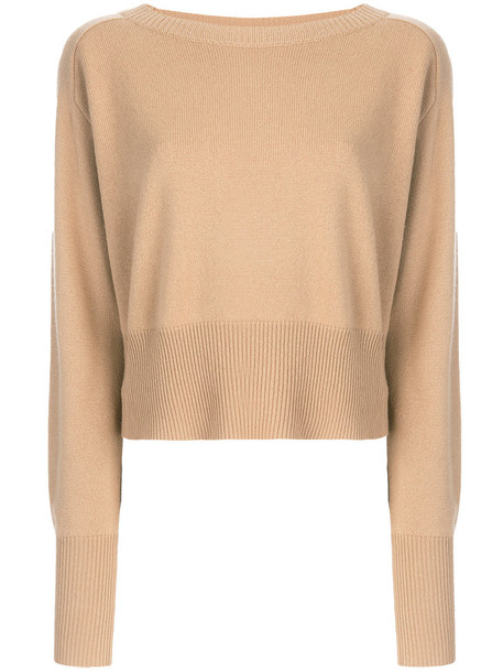 theory pullover women nude sweater