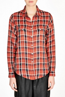 Ganni | Fulham Check Shirt by Ganni