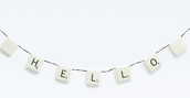 home accessory,lamp,garland,holiday gift,quote on it,hipster wishlist,dorm room,scrabble