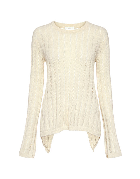 sweater back lace