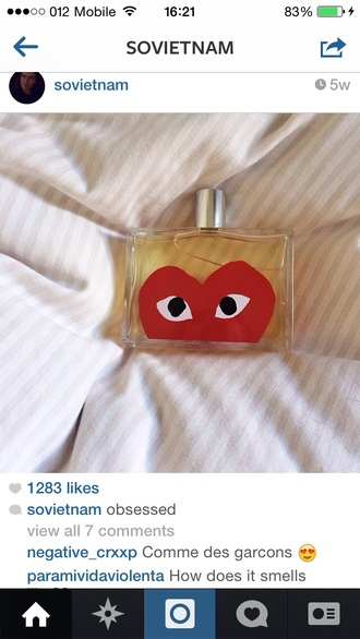 perfume eyes heart body care