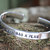 Dieu a un Plan Bracelet, Bracelet personnalisé, Bracelet de foi, Bracelet inspirée, Bracelet manchette, Bracelet point virgule, cadeaux religieux