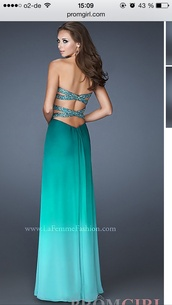 dress,blue dress,green dress,perles,prom dress