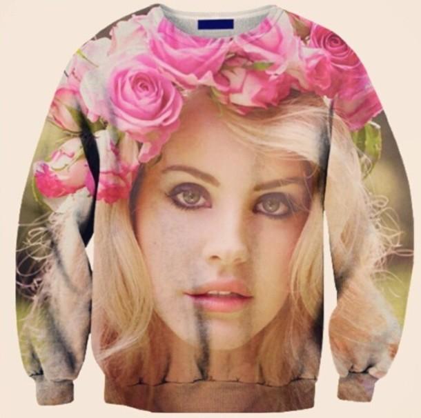 Sweater Lana Del Rey Wheretoget