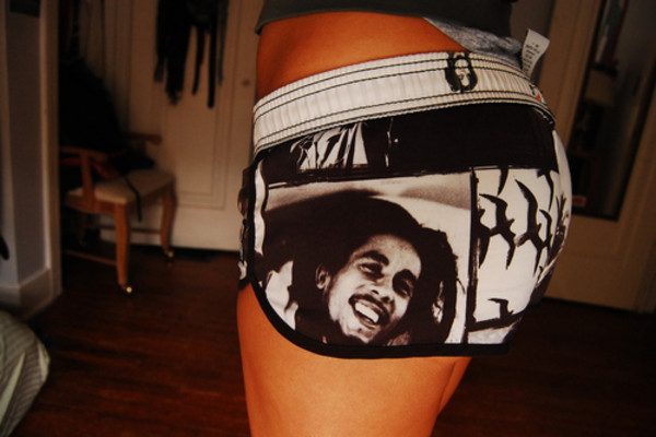 shorts clothes women bob marley bob maley
