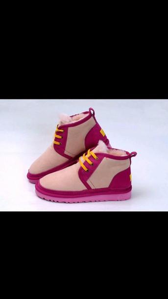 shoes ugg boots ugg boots pink ugg ugg boots