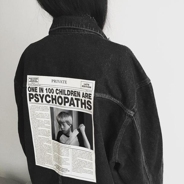 jacket denim jacket grunge alternative