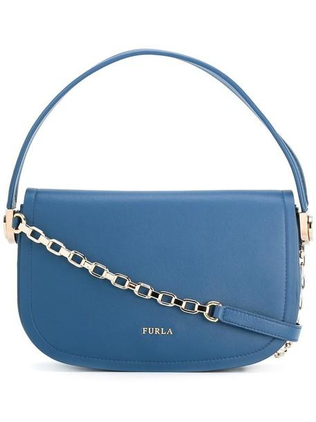 Furla women bag shoulder bag blue