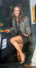 Sara berman lederjacke worn by pippa middleton / h&m/zara/mango like