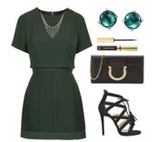 dress,green dress,formal dress,formal event outfit,outfit