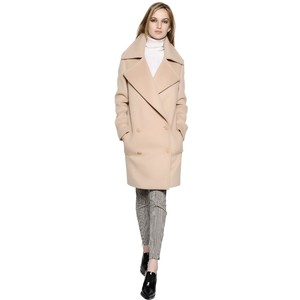 MCCARTNEY Double Breasted Compact Wool Coat