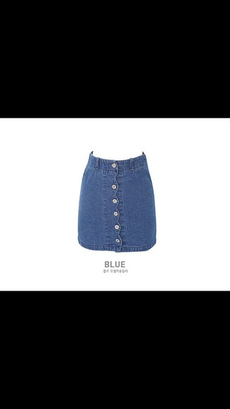 skirt denim blue denim denim skirt buttons button up skirt aline aline skirt cute outfits cute cute dress