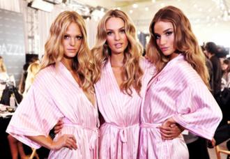 pajamas pink victoria's secret