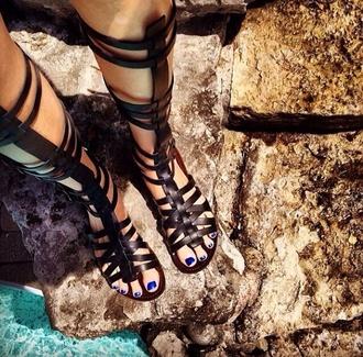shoes steve madden sandals gladiators black sandals black black gladiators