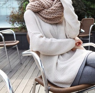 sweater cozy ivory oversized sweater warm sweater warm comfy outfits comfy