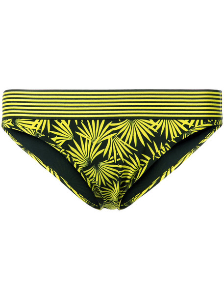 Dvf Diane Von Furstenberg bikini women yellow orange swimwear
