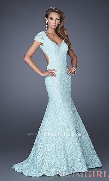 0b3bb6808a90 dress blue lace dress lace blue dress prom dress long prom dress lace dress  light blue