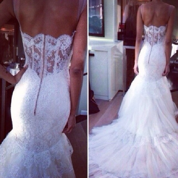 dress wedding dress white long maried white maxi dress