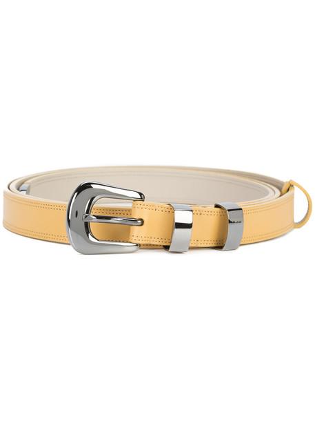 Nina Ricci buckled belt - Yellow & Orange
