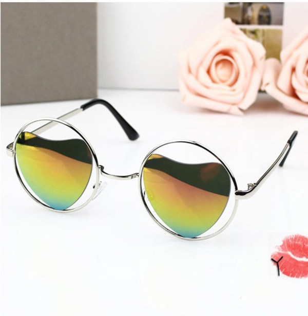 sunglasses sunglass heart sunglasses vintage fancy