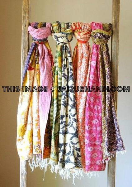 kantha scarves wholesale 10 pc