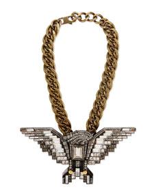 Crystal Eagle Necklace