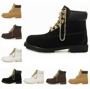 Free Shipping Suede With Gold Chains High Top Winter Motorcycle Sneakers,Male women tim Snow Boots Design Brand Climb Shoes-in Boots from Shoes on Aliexpress.com | Alibaba Group