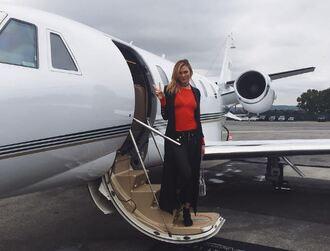 top coat karlie kloss instagram model off-duty