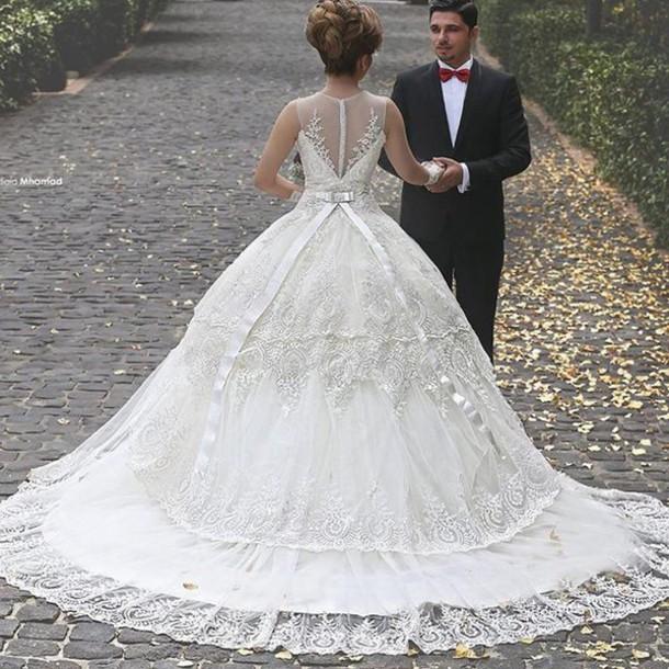 Muslim Wedding Dress Uae : Dress arabic wedding dresses princess