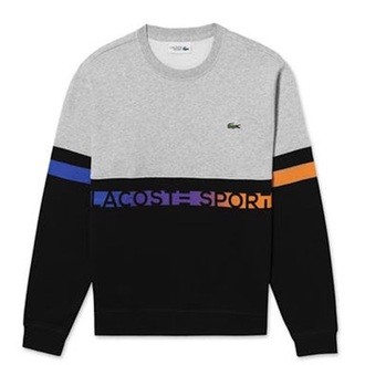 sweater colour block lacoste