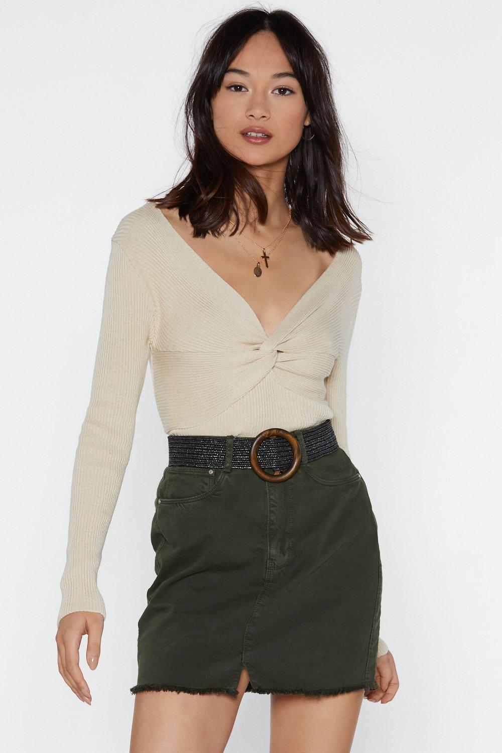 Twist It Now Baby Knit Top | Shop Clothes at Nasty Gal!