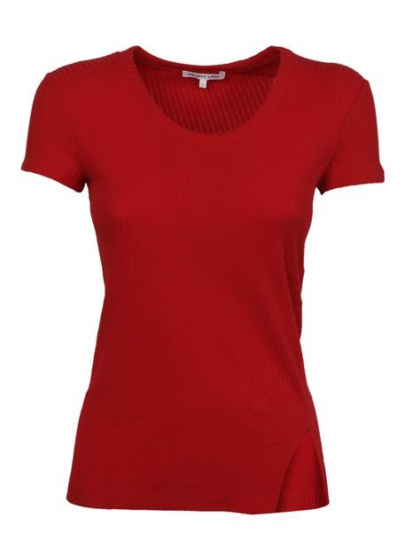Helmut Lang t-shirt shirt t-shirt slit top