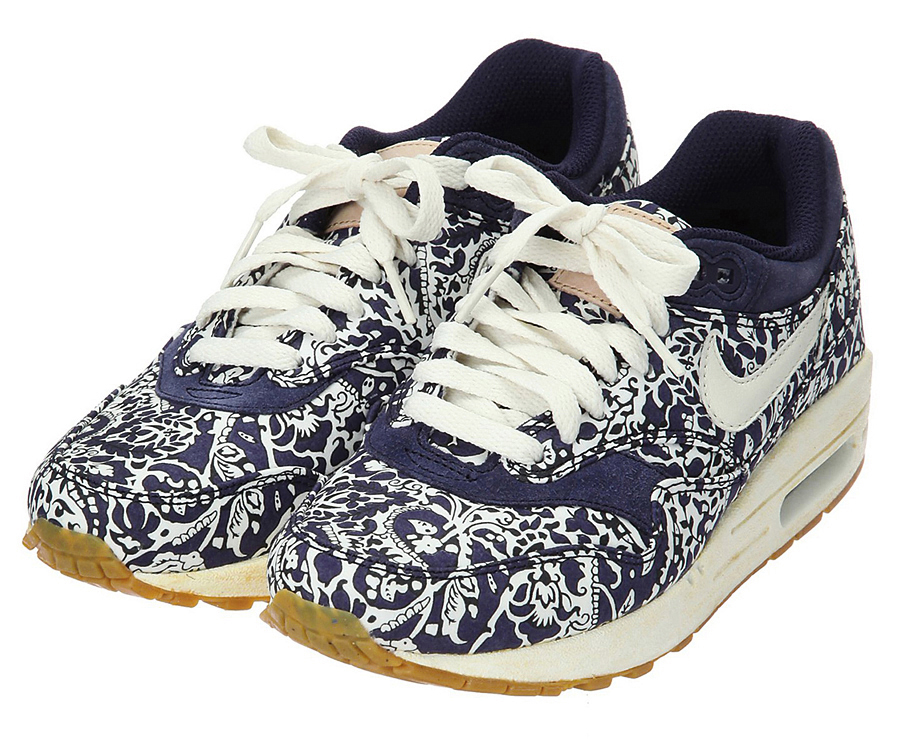 online store 7b063 6f2a9 Nike Air Max 1 ND Lib Liberty of London GR 40 5 US 9 Leopard Safari ...