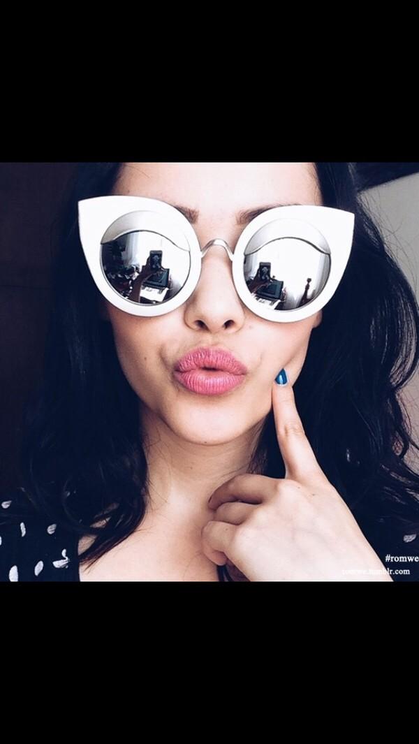 sunglasses reflector white