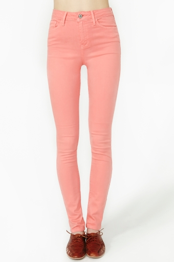 Pop sugar skinny jeans  in  clothes at nasty gal