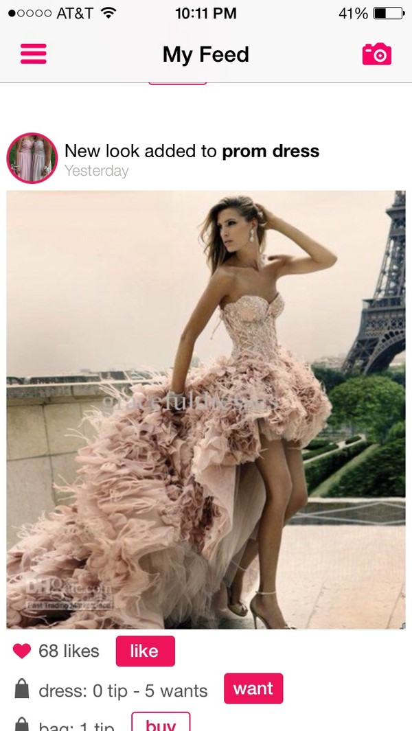 dress prone dress pink wedding dress elie saab