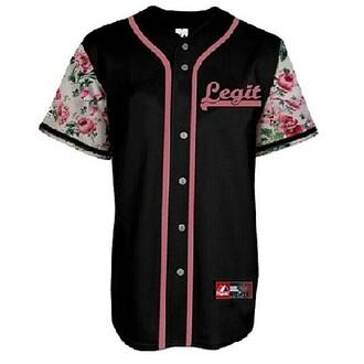 Floral baseball jersey shop for floral baseball jersey for Baseball jersey shirt dress