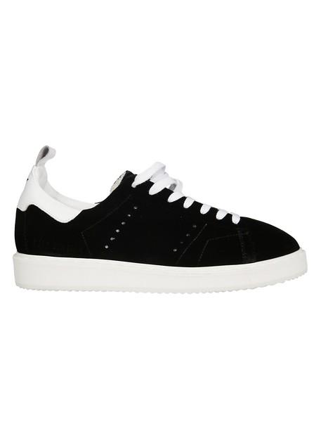Golden goose sneakers black shoes