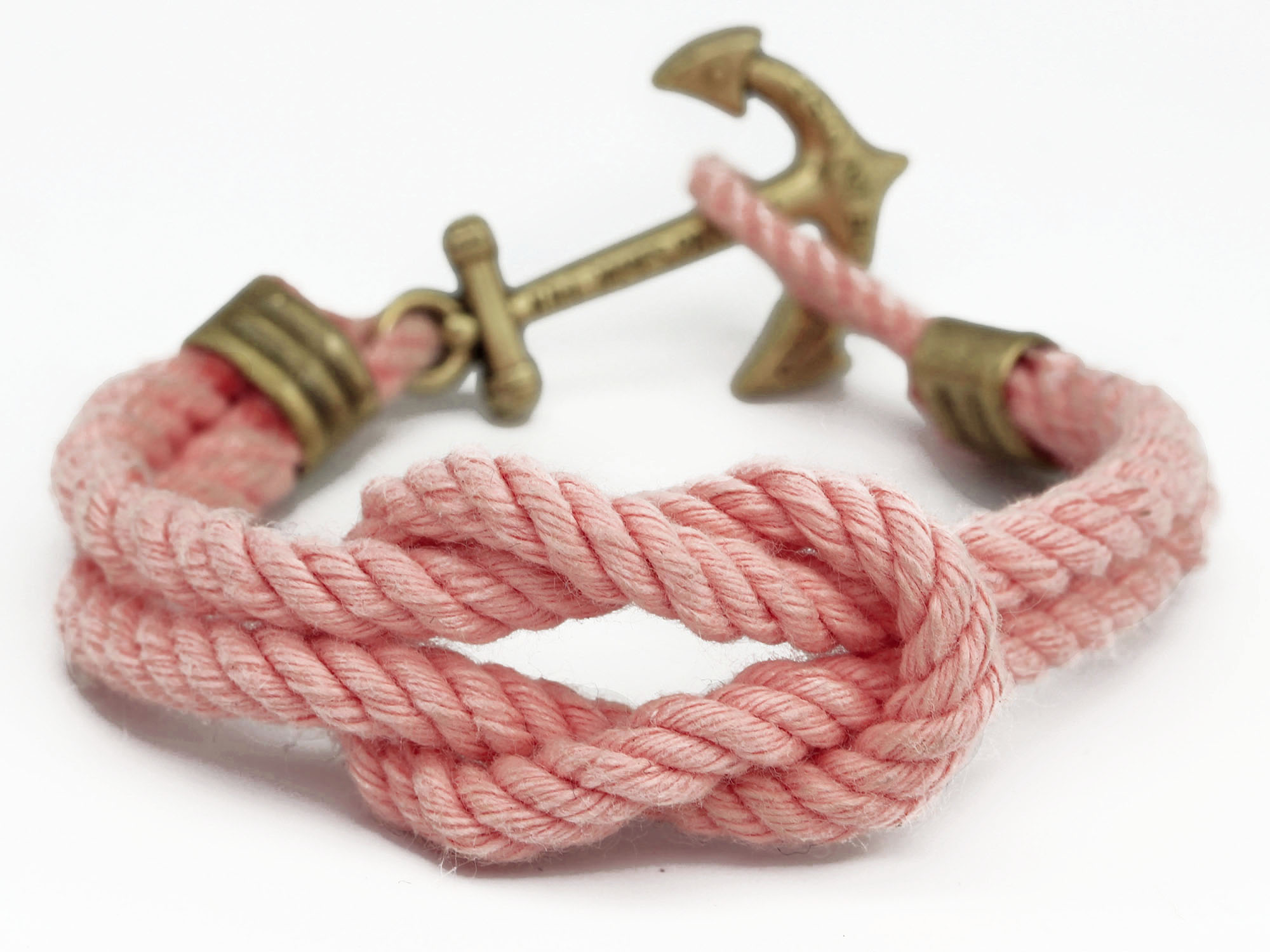 Anchor Bracelet - Asterly's Dock Pink Sunset - by Kiel James Patrick
