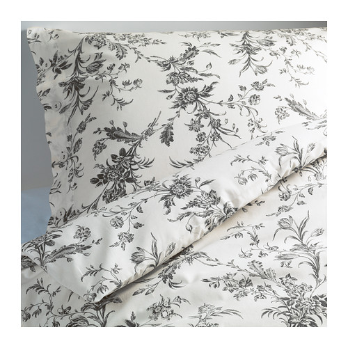 ALVINE KVIST Quilt cover and 2 pillowcases - 150x200/50x80 cm - IKEA