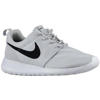 shoes nike roshes size5 grey black white
