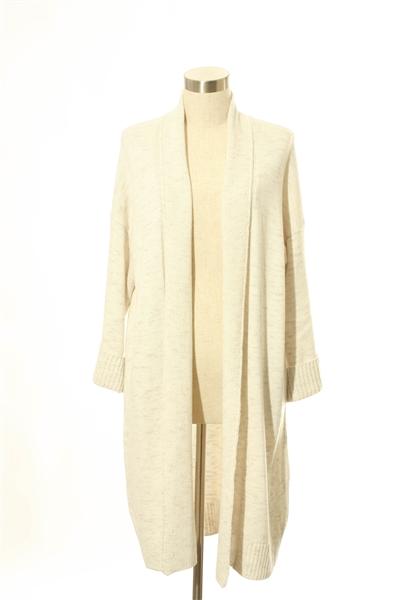 Truehitt - Gray Coat Cardigan