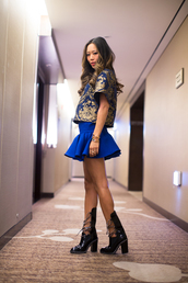 song of style,t-shirt,skirt,jacket,shoes,jewels