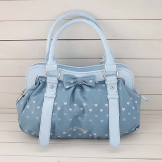 bag purse kawaii cute heart bow bunny kawaii bag