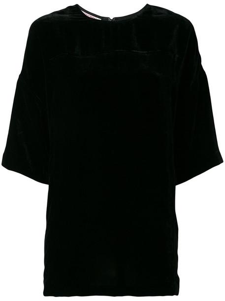 A.F.VANDEVORST t-shirt shirt t-shirt women black silk top