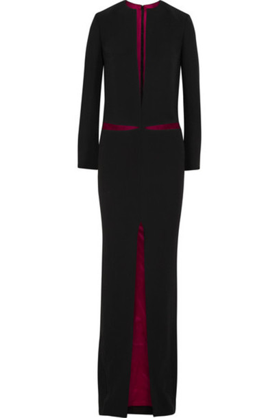 Haider Ackermann - Cutout Crepe Gown - Black