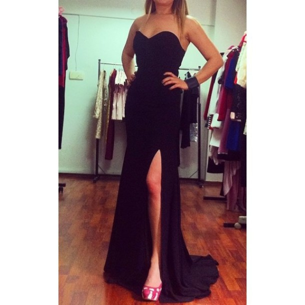 4001d0c6707 dress pink decoration maxi dress strapless dress strapless wedding dresses  black dress 2014 full length forever