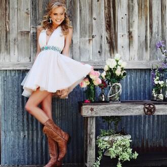 dress dance love pretty cute homecoming dress prom dress boots cute dress