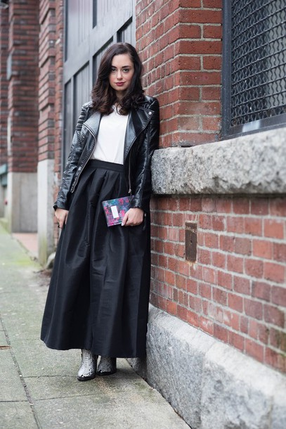 coco and vera blogger jacket t-shirt skirt shoes jewels