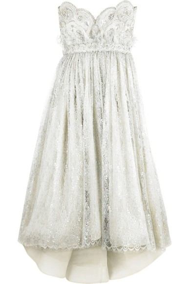 dress sparkling white princess